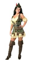 Hot sell 2014 Hallowmas costume COSPLAY fancy ball Swashbuckler Robin Hood female