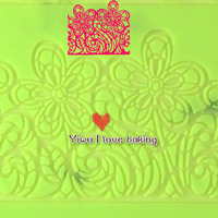 Free shipping Flower design silicone lace fondant mat for fondant lace mold, impression lace mat