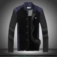 men's clothing outerwear thin 2014 autumn Men's Fashion Jackets patchwork jacket male slim Casual Jackets COAT plus size M-5XL