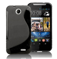 Hot Sale S line Soft TPU Gel Skin Cover Case For HTC Desire V1 D310W Free Shipping 10pcs/lot