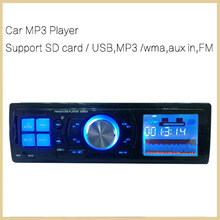 Car MP3 Player Audio Radio 1 Din Stereo fm transmitter Sound In-Dash With USB SD Input FM Receiver for MP3 Player AUX 3.5mm(China (Mainland))