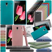 "Low price New Nice Light Brushed Back Skin TPU Cover Slim soft Case For Xiaomi Hongmi MI Red rice redmi 1s 4.7"""