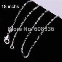 Free Shipping , 925 silver jewelry Beautiful fashion jewelry Fine chains c001