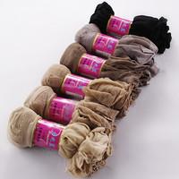 Thin Crystal Trans Parent Silk Stocks Women Female Short Stocks Wholesale Sexy Socks Invisible Socks 10pair / lot = 20pcs