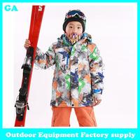 Dropshipping 2014 New winter boy coat cotton-padded jacket warm coat children outwear windoroof waterproof snow jacket kids