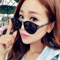 5527 brand cross retro round metal arrow sunglasses sunglasses female big sunglasses