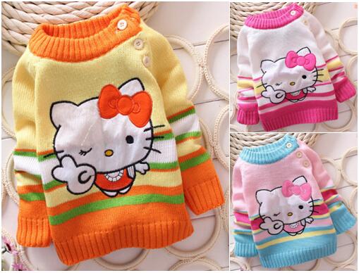 2015 Kids Fashion Lace Sweater Children Cotton Cardigan Baby Outerwear Girls ...