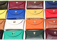 Colorful Leather Credit Card Holder Bank Card Holder