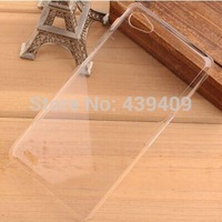 2014 Newest Fashion Transparent ultra-thin Hard Case For Philips xenium W6610 Case Phone cover 100% Perfect fit Free Shipping