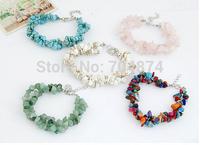 2014 New arrive  50 pcs/lot  so beautiful women retro vintage handmade  macadam  bracelets