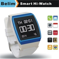 """Free Shipping Hi Watch Phone with 1.55"""" Touch Screen Quad Band GSM MP3/MP4 Bluetooth Dialer Watch Support GPRS WAP FM Pedometer"""