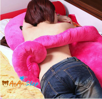 New Hot Cute 53'' 135cm Big Size Plush Octopus Hold Pillow Cushion Stuffed Animal Doll Soft Toy Birthday Christmas Gift