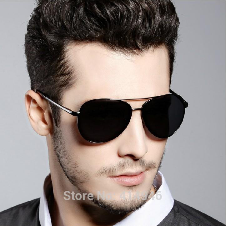Free Shipping wholesale top quality cheap all brand designer metal sunglass china 2014 men polarized sunglasses sg497(China (Mainland))