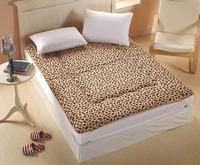100% cotton 2014 new sponge totoro single double bed memory foam mattress pad japanese style tatami mat folding thickening soft