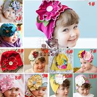 Flower hat baby toddler infant girls baby gift