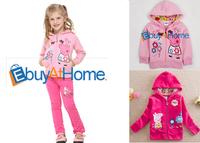 Wholesale kids hoodies peppa pig girls sweatershirt fashion Children's clothing cotton kid shirts free shipping