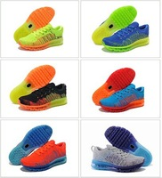 10Color DropShipping Free Shipping Wholesale Famous 2014 shoes Men's Sports Running Shoes