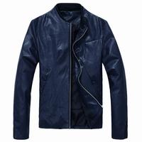 Hot sales 2014 Hitz Korean collar Slim washing leather jackets motorcycle jacket