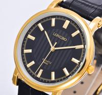 LONGBO Men Watch Luxury Brands, Fashionable Man Waterproof Quartz Watch