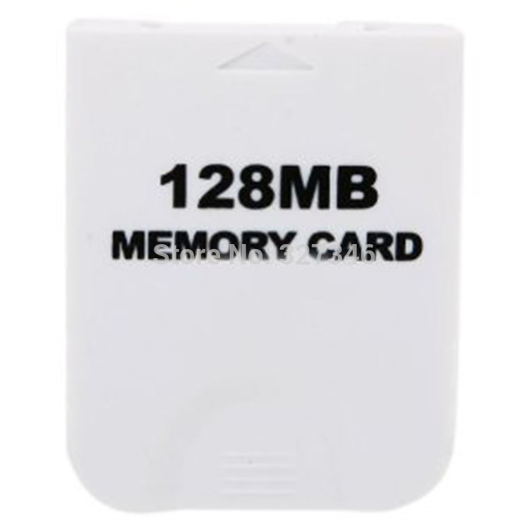 Free Shipping 2014 Newest White 128MB Memory Card for Nintendo Wii Gamecube NGC Console(China (Mainland))