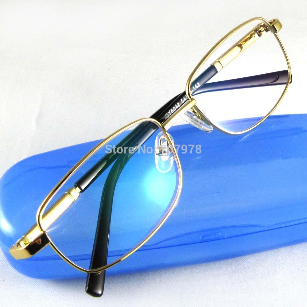 Brand new full rim Reading Glasses eyeglasses Presbyopia hyperopia elderly metal frame 3.00/+3.25/+3.50/+3.75/ +4.00 strength(China (Mainland))