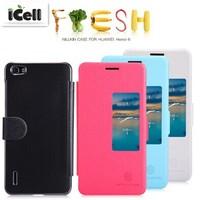 Original Nillkin Brand Fresh Series Flip Leather Case For Huawei Honor 6 ,+Retail MOQ:1PCS free shipping