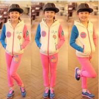 2014 Hitz female big hit color track suit Tong Xuesheng junior high school children's children