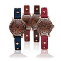 2014 New Arrival Women Watch! Female Quartz Leather Wristwatches Popular Casual Ladies Dress Watches Women Rhinestone Watch