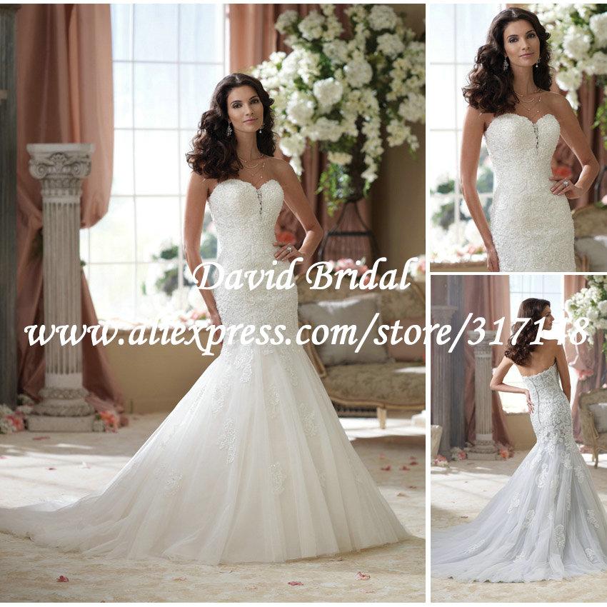 Свадебное платье David Bridal Eelgant SE016 коктейльное платье elisha bridal vestido eo1519