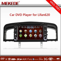 MTK3336NCG CPU Dual Core+Special CAR DVD for Lifan620 with GPS,Bluetooth, Ipod ,BT,3G,1080p,10EQ band  free map gift!!