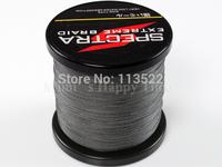 1 PCS 1000M 80LB 0.48mm Grey Spectra Brands 4 strands PE Dyneema Braided Fishing Line free shipping