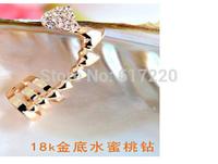 #277 Free Shipping 24pcs/lot Newest Heart to Heart Fashion Ear Cuff Earrings For Women Charms