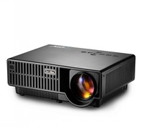 barcomax new design with double HDMI,USB,VGA ports ,native 1280*800p led lcd multimedia projector, free shipping for you