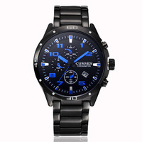 New Arrival CURREN Brand Men Wrist Watches quartz watch,stainless steel & Water Resistance Men Watch,New Year GIFT,Free Shipping
