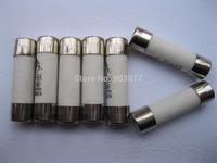 200 Pcs 380V 20A 10mm x 38mm Ceramic Fuse Powder Filled Cartridge Cylindrical