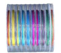 1000m 6# NEW Fishing Line PE line 8 BRAID multi colour braid line