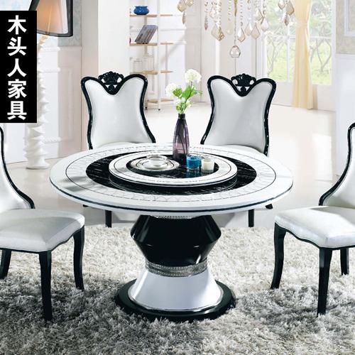 Modern Nail Table Joy Studio Design Gallery Best Design : Wooden furniture small apartment upscale Korean white font b marble b font font b dining b from www.joystudiodesign.com size 500 x 500 jpeg 231kB