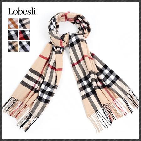 [LOBESLI] 2014 brand plaid pashmina scarf wrap shawl cape 100% cashmere scarf thick material winter warm scarf wj0037(China (Mainland))