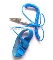 2pcs/lots Free shipping Anti Static  bands Adjustable Wrist Strap Band Grounding Wristband,
