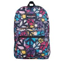 Moovsport Harajuku graffiti leisure bag men's backpack printing water repellent JAN mochila high-capacity school bags