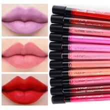 Free Shipping Hot sale Amazing 18 Colors Waterproof Liquid Makeup Lip Stick Lip Pencil Lipstick Lip Gloss Pen Wholesale(China (Mainland))