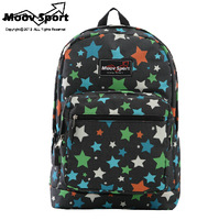 High quality Moovsport Harajuku Colorful stars men's backpack printing water repellent JAN mochila high-capacity school bags