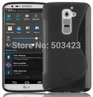 For LG L Fino Case,New S Line Soft TPU Gel Skin Cover Case For LG L Fino