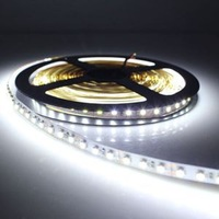 High Quality Bright Cool White NON-Waterproof 3528 600LED 5M 120LED M Light Strip Lamp 12V With Low Price