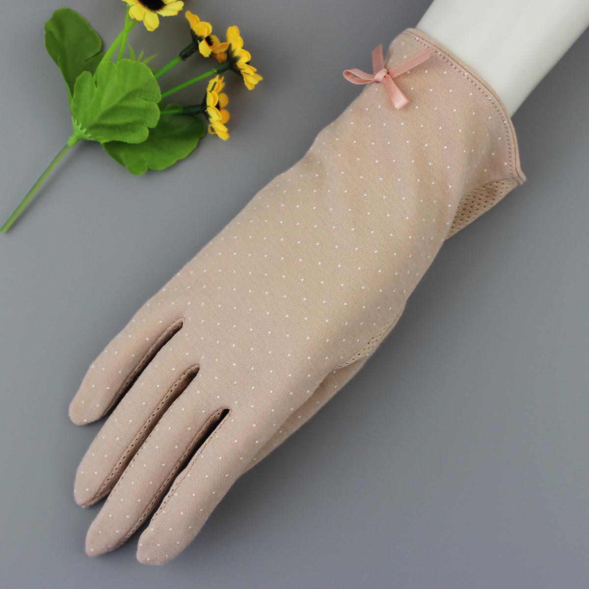 sunscreen gloves slip-resistant Gloves sunscreen anti-uv female short design gloves driving Car mittens(China (Mainland))