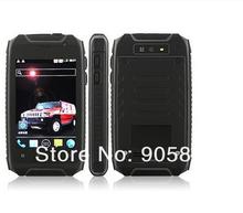 Hummer H1+ Waterproof phone Dual Core 3.5inch Rugged smartphone MTK6572A GPS Android 4.2.2 Dustproof shockproof 512/4G 2800mah