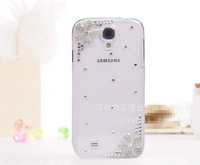 New For Samsung s3 i9300 mobile phone shell crystal flower Galaxy S3 mobile phone protective cover, i9300 paste drill phone sets