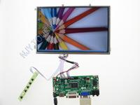 "Free Shipping HDMI+DVI+VGA LCD Controller Kit+10.1 inch B101EW05 1280x800 LED Screen Panel  for DIY 10.1"" LCD Monitor"