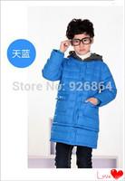 2014 children's clothing jacket boys jacket length dual-Korean thickening dress clothing set
