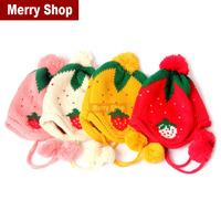 Hot 2014 Spring Winter Warm Baby Lovely Rabbit Hat Fashion Kid's Ear Pretect Animal Hat children's Cap For Winter